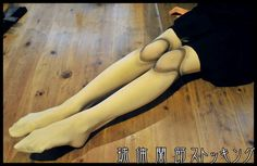 Photo tutorial on ball joint doll tights. This came to us via tumblr, and we haven't been able to track down the original source. Please let us know if you know it! We'd love to give proper credit...