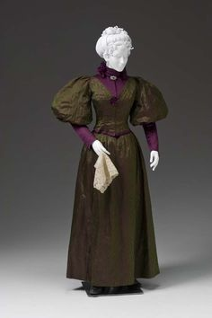 Dress ca. 1894-95  From the Mint Museum
