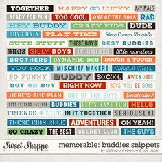Memorable: Buddies S