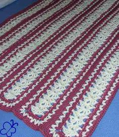 mile a minute crochet afghan pattern