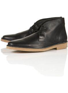 nevada leather desert boots