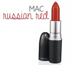 MAC Russian RED / When your makeup fades a swipe of red lipstick is the quickest way to refresh