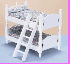 BUNKBED/LADDER/WHITE