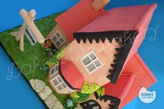 The House Cake - by helenabakes @ CakesDecor.com - cake decorating website