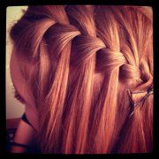 idea, waterfalls, waterfal braid, diets, daughter