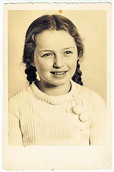Beautiful Helga Kann, little German Jewish girl. Photo taken before WW2, nothing else is known. She likely perished in the Holocaust... ~