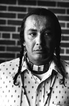 SOUTH DAKOTA — Russell Means, leader of the American Indian Movement, 1973.  © Rene Burri / Magnum Photos