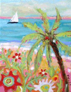 Palm Tree by Karen Fields