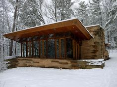Seth Peterson Cottage by Frank Lloyd Wright