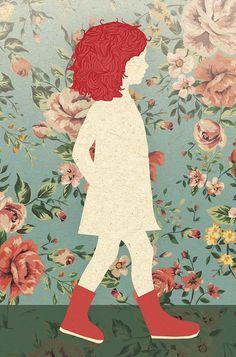 floral patterns, flower, background floral