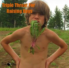 Triple Threat For Raising Boys TBM