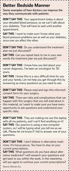 The Talking Cure for Health Care - Improving the ways doctors communicate with their patients can lead to better care—and lower costs by wsj. Infographic and photo by University of Missouri Health care. #Medicine #Healthcare #Communication