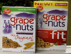Grape-nuts in my peanut butter, I think I would actually eat peanut butter tortillas while backpacking with this stuff sprinkled in!
