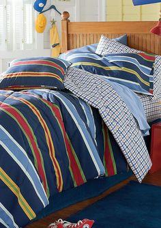 Duke Reversible Comforter   One Comforter Two Ways   Teen Boy Bedding