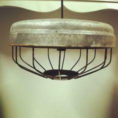 chicken feeder, special place, light