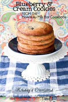 Blueberry & Cream Cookies from Krissy's Creations