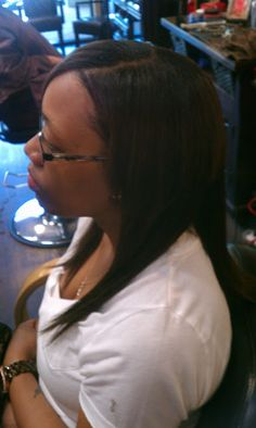 Her first sew in