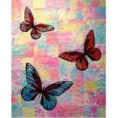 butterfli idea, butterflies, quilt patterns, piec background, offic product, quilts, butterfli quilt, butterfli pattern, pattern offic