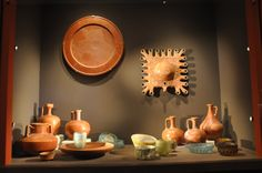 Artifacts - terra siligata pottery and Roman glass from Herod's palaces