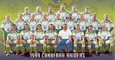 FLASHBACK: The 1999 Canberra Raiders. Who was your favourite player from that team?