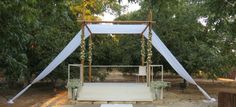 #Israeli #wedding #chuppah from Kim Bulow Event Design www.themodernjewishwedding.com