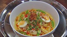 Seafood Laksa from masterchef