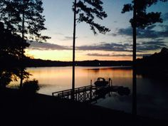 @Jennifer Holbrook- Lake Murray, SC #TODAYsunrise