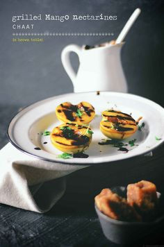grilled mango nectarine chaat by abrowntable, via Flickr