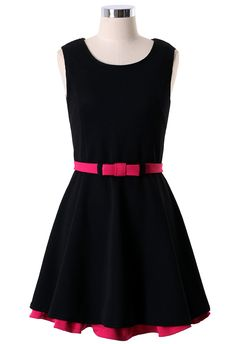 Sleveless Pleated Dress with Layer Skirt - Party - Dress -