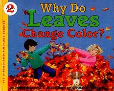 Explains how leaves change their colors in autumn and then fall from the tree as it prepares for winter.