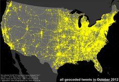 big broad data: thirty million tweets visualised