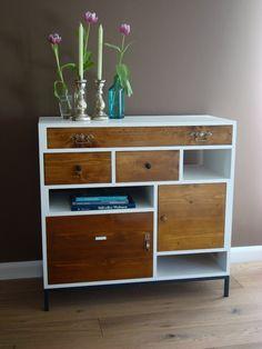 kommode on pinterest retro sideboard granny squares and. Black Bedroom Furniture Sets. Home Design Ideas