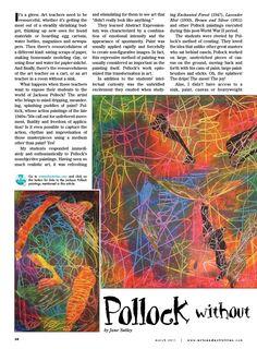 idea, school, art project, art lesson, elementari art, artist, paintfre pollock, art activities, jackson pollock lesson