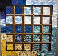 Free pattern: Attic Windows quilt by Diane Nagle, for the Mendocino collection at PB Textiles
