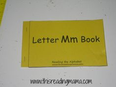 Reading the Alphabet: Assembling the Books - This Reading Mama