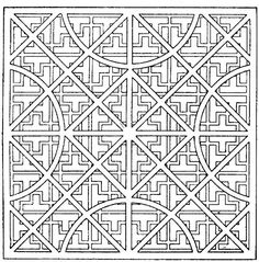 Abstract Designs to Color | ... adults will adore - check out the rest of our FREE COLORING section