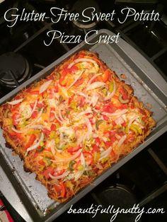 Gluten Free Sweet Potato Pizza Crust