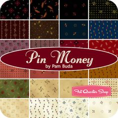 Pin Money by Pam Buda for Marcus Brothers Fabrics