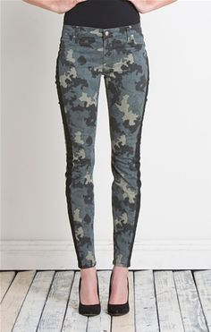 fashion, camo skinni, stripe pant, style, bell side, henri, belle, stripes, side stripe