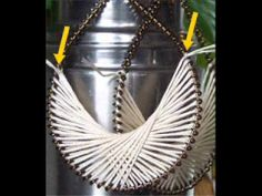 A Quick How To Make a Thread Earring Video, instead of thread use fine gauge wire.