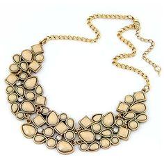 Latte Pebbles Necklace