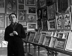 Rose Valland secretly recorded more than 20,000 pieces of art brought by Nazis to the Jeu de Paume Museum, keeping track of where and to whom in Germany the artworks were shipped. She risked her life to provide information to the French Underground and about railroad shipments of art so that they would not mistakenly blow up the trains loaded with France's priceless treasures. (Wikipedia)