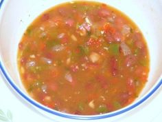 Karina's Red Beans:  A Delicious Dominican Stewed Beans Recipe or Habichuelas Guisadas Dominicanas (My Dominican Food blog)