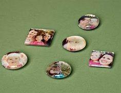 Creative photo magnets.