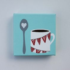 would be cute in the kitchen..next to my favorite appliance (the coffee maker)