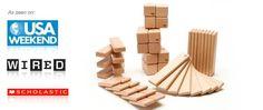 52-piece Magnetic Wooden Blocks | Tegu