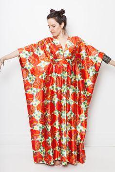 C vintage caftan dress