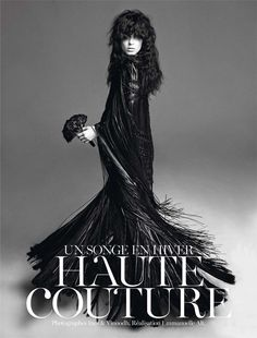 Vogue Paris Nov 2012 / by Inez & Vinoodh / Kati Nescher