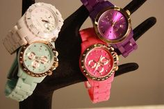 these are adorable fashion, mint green, fossil watches, bookmark, blue, accessori, black white, summer colors, jewelry holder