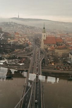 oh, the wonders of earth. what a lovely city [Bratislava, Slovakia]